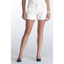 Lole Hike Shorts - UPF 50+ (For Women) in White - Closeouts