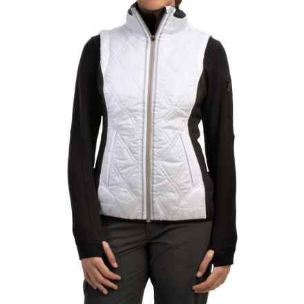 Lole Icy Vest - Insulated (For Women) in Artic White - Closeouts