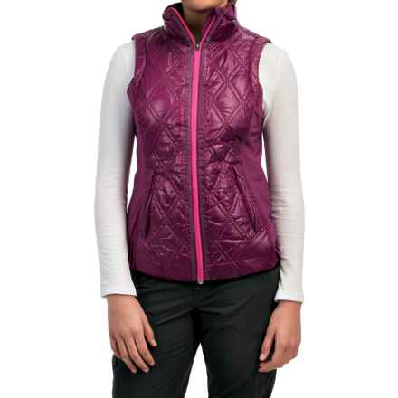 Lole Icy Vest - Insulated (For Women) in Mulberry - Closeouts