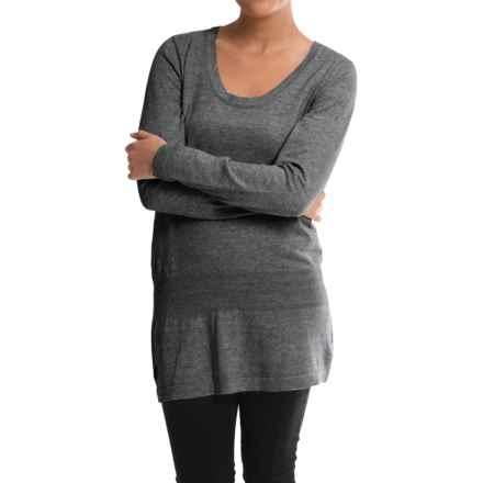 Lole Imagine Tunic Sweater - UPF 50 (For Women) in Dark Charcoal Heather - Closeouts
