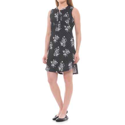 Lole Jacinta Dress - UPF 50+, Sleeveless (For Women) in Black Field - Closeouts