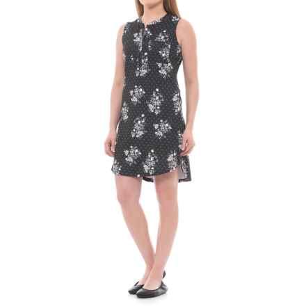 Lole Jacinta Dress - UPF 50+, Sleeveless (For Women) in Black Field - Closeouts