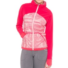Lole Jade Hooded Jacket (For Women) in Rhubarb - Closeouts