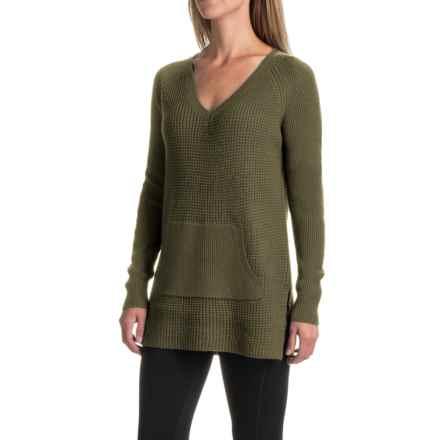 Lole Jaden Tunic Sweater (For Women) in Khaki - Closeouts