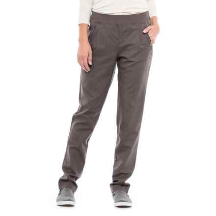 Lole Jala Tapered Pants (For Women) in Dark Charcoal - Closeouts