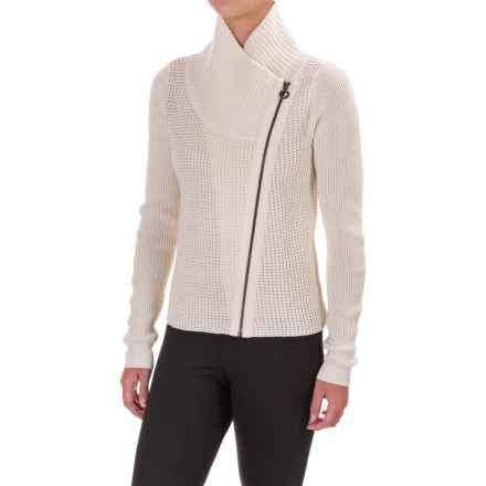 Lole Jazlyn Cardigan Sweater - Full Zip (For Women) in Gelato - Closeouts