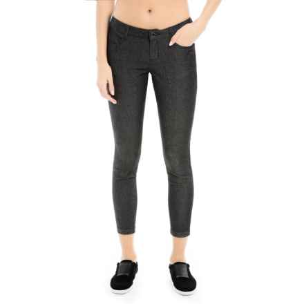 Lole Jazz 2 Skinny Jeans - Low Rise (For Women) in Washed Black - Closeouts