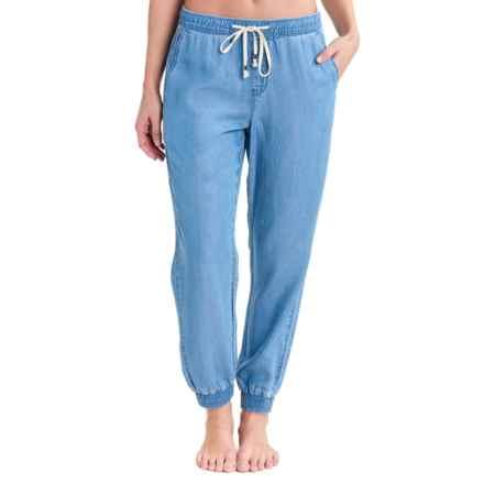 Lole Jean Joggers (For Women) in Medium Blue Wash - Closeouts
