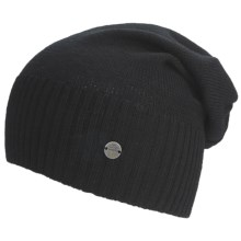 Lole Jersey Knitwear Beanie Hat (For Women) in Black - Closeouts