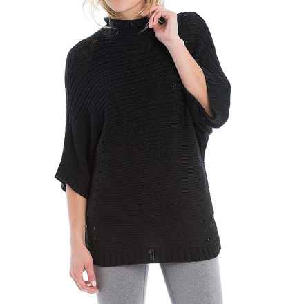 Lole Joan Sweater - Elbow Sleeve (For Women) in Black - Closeouts