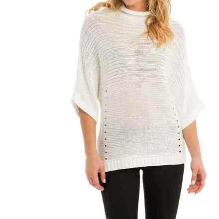Lole Joan Sweater - Elbow Sleeve (For Women) in Vanilla - Closeouts