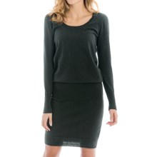 Lole Jodie Dress - Long Sleeve (For Women) in Black - Closeouts