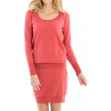 Lole Jodie Dress - Long Sleeve (For Women) in Cardinal - Closeouts