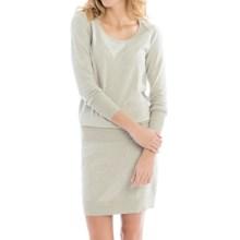 Lole Jodie Dress - Long Sleeve (For Women) in Warm Grey Heather - Closeouts