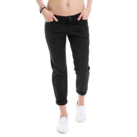 Lole Jolie Cotton Capris (For Women) in Black - Closeouts