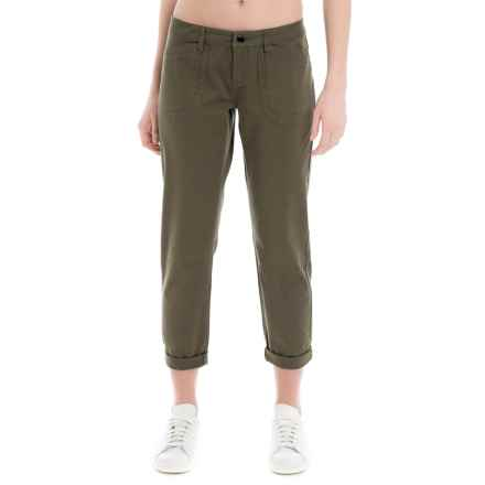 Lole Jolie Cotton Capris (For Women) in Khaki - Closeouts