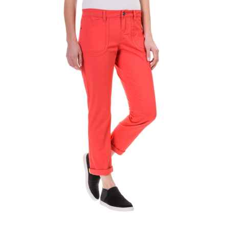 Lole Jolie Cotton Capris (For Women) in Ruby - Closeouts