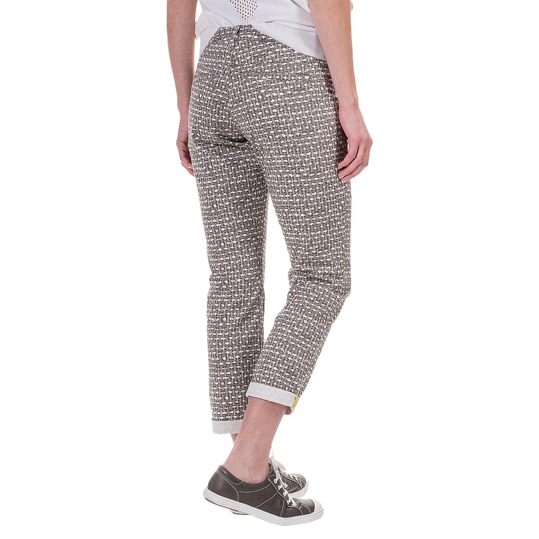 Model Woolrich Campwood Poplin Capri Pants (For Women) 2120G