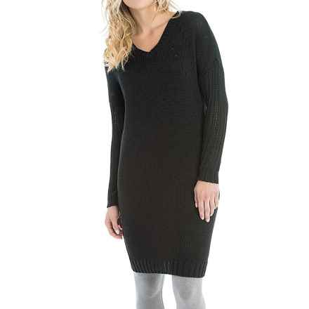 Lole Joni Dress - Long Sleeve (For Women) in Black - Closeouts