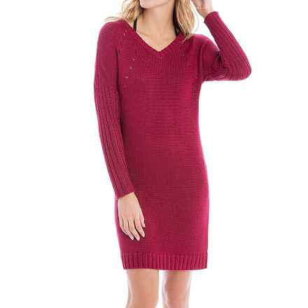Lole Joni Dress - Long Sleeve (For Women) in Peppercorn - Closeouts