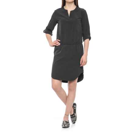 Lole Juju Dress - 3/4 Sleeve (For Women) in Black - Closeouts
