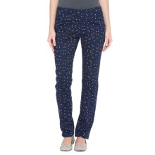 Lole Juno Pants - UPF 50+, Cotton (For Women) in Amalfi Blue Crossroads - Closeouts