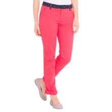 Lole Juno Pants - UPF 50+, Cotton (For Women) in Campari - Closeouts