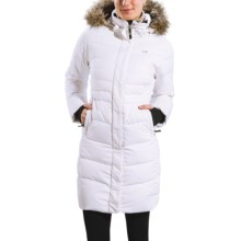 Lole Katie Down Jacket - 600 Fill Power (For Women) in White Embossed Inu - Closeouts