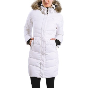 Lole Katie Down Jacket - 600 Fill Power (For Women) in White Embossed Inu
