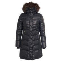Lole Katie L Edition Down Jacket - 600 Fill Power, Removable Raccoon Fur Trim (For Women) in Black - Closeouts