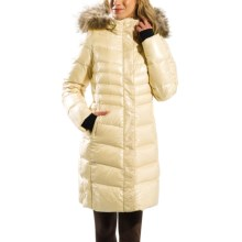 Lole Katie L Edition Down Jacket - 600 Fill Power, Removable Raccoon Fur Trim (For Women) in Pearl - Closeouts