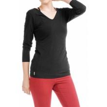 Lole Kavita Shirt - Long Sleeve (For Women) in Black - Closeouts
