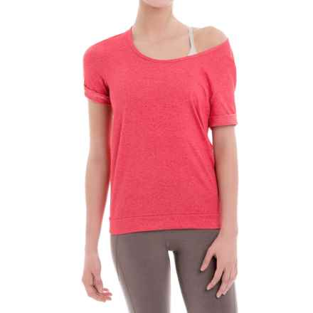 Lole Keeley Shirt - Short Sleeve (For Women) in Ruby - Closeouts