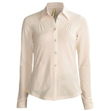 Lole Kindly Polo Shirt - Merino Wool, Long Sleeve (For Women) in Balm - Closeouts