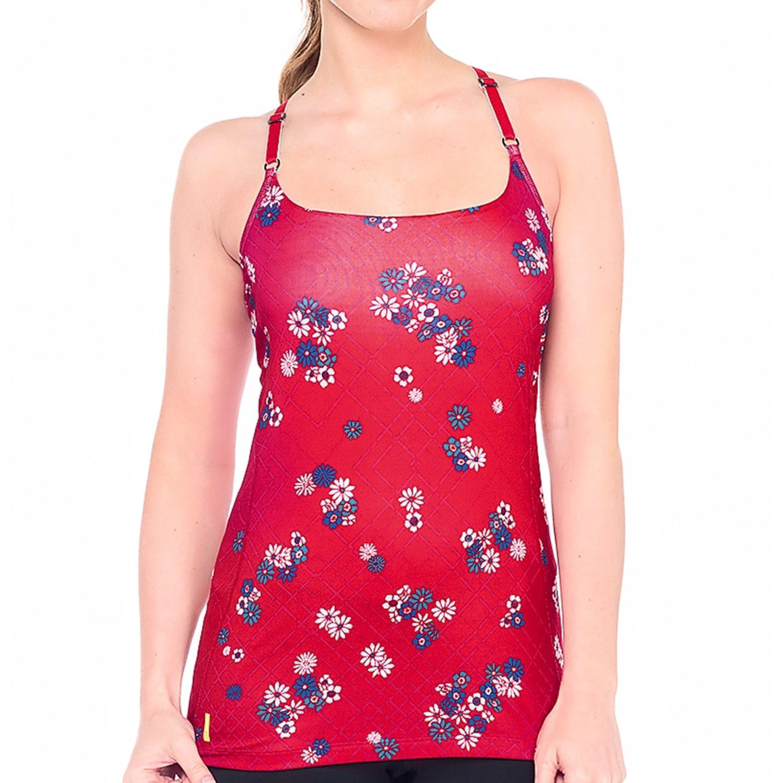 lole lacey tank top shelf bra for women save 30. Black Bedroom Furniture Sets. Home Design Ideas