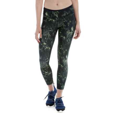 Lole Laine Running Leggings (For Women) in Khaki Metropolitan - Closeouts