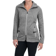Lole Landing Jacket (For Women) in Black Heather - Closeouts