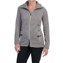 Lole Landing Jacket (For Women) in Warm Grey Heather - Closeouts