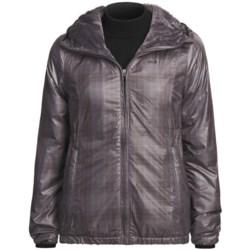 Lole Legend Windproof Jacket - Packable, Faux-Fur Lining (For Women) in Black/Moonlight/Vanilla