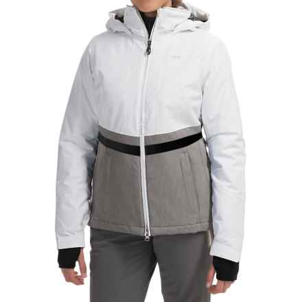 Lole Lenny Thermaglow Ski Jacket - Waterproof, Insulated (For Women) in White - Closeouts