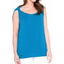 Lole Lia Tank Top - TENCEL®, Scoop Neck (For Women) in Blue Potato - Closeouts