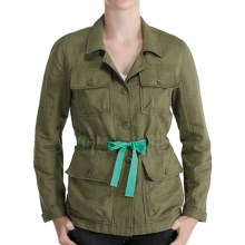 Lole Lina Safari Jacket - Organic Cotton-Linen (For Women) in Olive - Closeouts