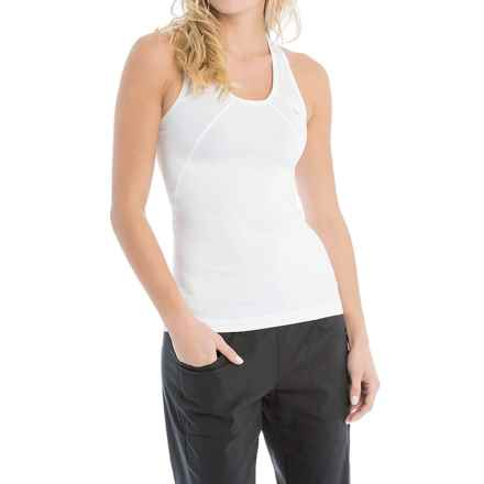 Lole Lindy Tank Top - Racerback, Scoop Neck (For Women) in White - Closeouts