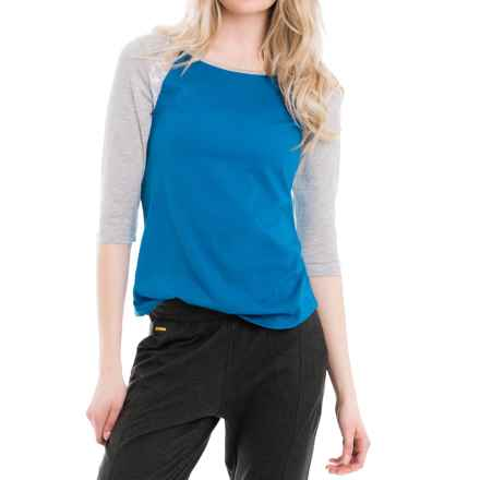 Lole Lita T-Shirt - Elbow Sleeve (For Women) in Vallarta Blue - Closeouts