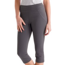 Lole Lively Capris (For Women) in Dark Charcoal - Closeouts