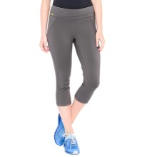 Lole Lively Capris - UPF 50+ (For Women) in Dark Charcoal - Closeouts