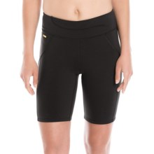 Lole Lively High-Rise Shorts - UPF 50+ (For Women) in Black - Closeouts