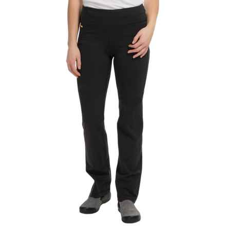 Lole Lively Straight Pants - UPF 50+ (For Women) in Black - Closeouts