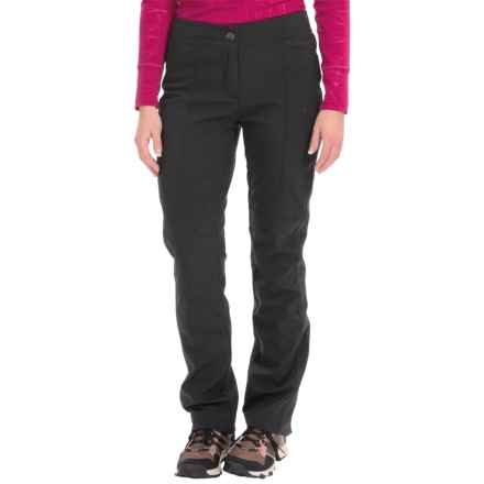 Lole Living Soft Shell Pants (For Women) in Black - Closeouts