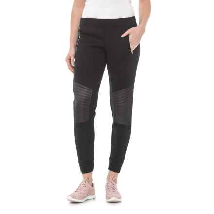 Lole LOLE ALIA DRAWSTRING PANTS W/TOPSTITCHED KNEES (For Women) in Black - Closeouts